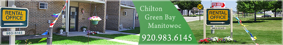 Green Bay, Chilton, and Manitowac Apartments, Rentals, and Leases